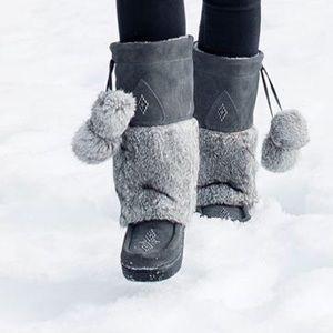 Manitobah Mukluks - Snowy Owl Suede Waterproof